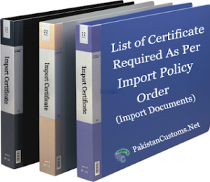List-of-Certificate-Required-As-Per-Import-Policy-Order