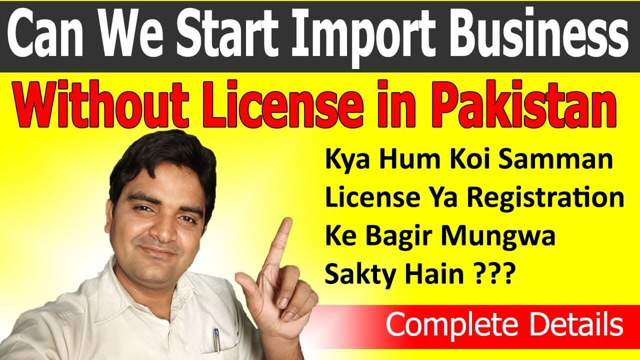 Start Import Business without License