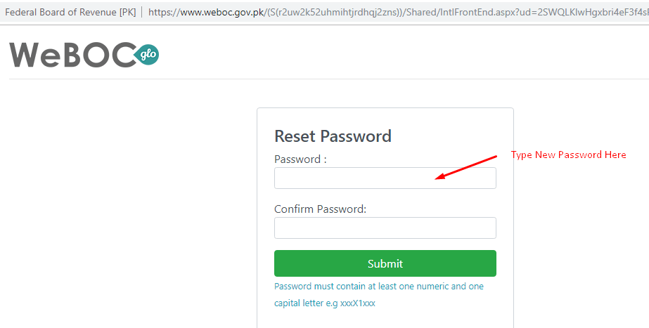 Weboc-glo-password-reset-confirmation